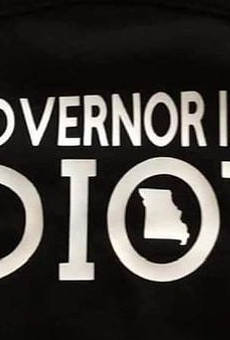 'My Governor Is an Idiot' Mask Becoming Very Popular in Missouri