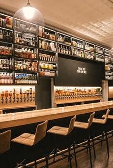 The bar at Brennan's has always had a huge selection of spirits.