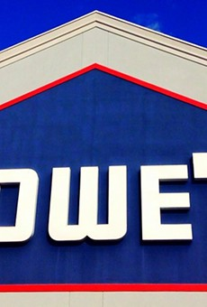 Lowe's is very active on Twitter.