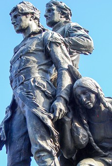 In July, Charlottesville, Virginia removed its statue of Lewis and Clark over its depiction of Sacagawea.