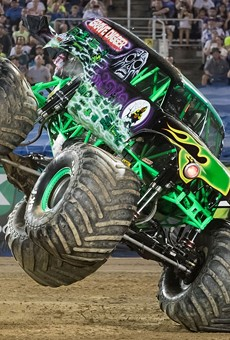 Grave Digger is just one of twelve trucks headed to town in January.
