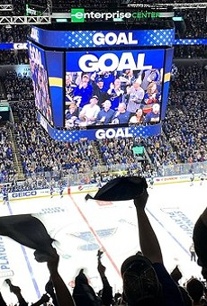 The return to Blues hockey games now includes proof of vaccination or negative COVID-19 tests.