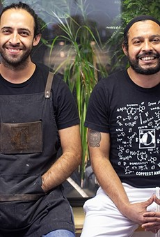 Patrick and Spencer Clapp prove there is always a place for great food and coffee.