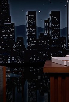 VIDEO: Simone Biles Goes to Bat Against Jimmy Kimmel About Imo's Pizza