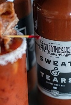 Southside Alchemy's Sweat & Tears Bloody Mary Mix won a Gold Medal from Fifty Best.