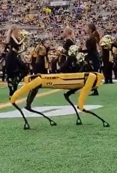 VIDEO: Mizzou Reveals Terrifying New Cheerleader