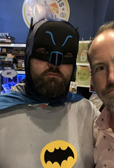Batman and Apotheosis owner Martin Casas