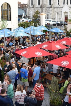 For the tenth year, Urban Chestnut Brewing Company's Oktoberfest will be taking place, but this time with a new location.