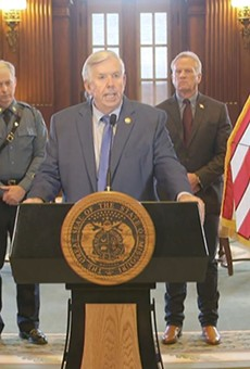 Missouri Gov. Parson is blaming a reporter for finding a security flaw in a state website.
