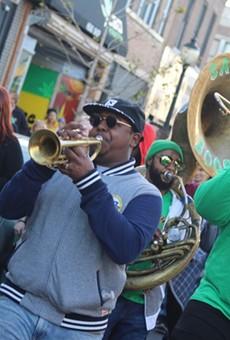 The Cherokee Street Jazz Crawl in 2019.