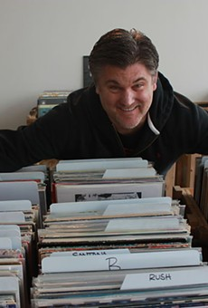Mark Carter, Music Record Shop owner and lover of all things vinyl.