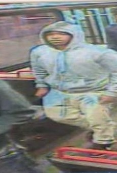 These are three of six persons of interest St. Louis police are trying to identify in a MetroLink killing.