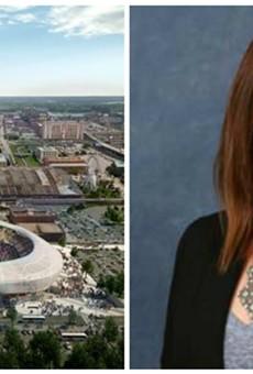 Ward 6 Alderwoman Christine Ingrassia sponsored a stadium funding measure — but isn't sure if she personally supports it.