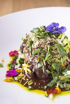 """""""Mole Negro de Abuelita Concepcion: chef Tello Carreon's signature dish."""