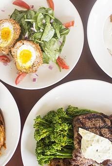 Offerings at the Wood Cask, Dan Marten's longer-lived Kirkwood restaurant.