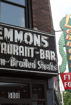 Lemmons' signs still stand at 5800 Gravois Ave.