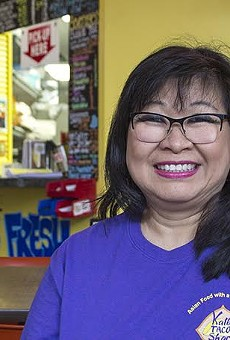 Sue Wong-Shackelford is back with her first love at Kalbi Taco Shack.