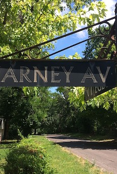 Harney Avenue is in north city, near Bellefontaine Cemetery.