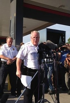 Former Ferguson Police Chief Tom Jackson presided over the department that cited Fred Watson in 2012 after they found him cooling off in his own car after a game of pickup basketball.