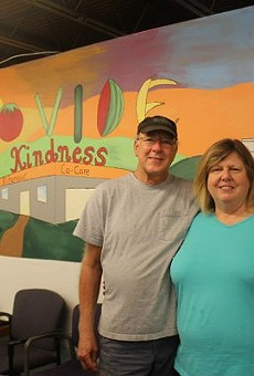 Ron Bickerstaff and the Rev. Marsha Brown will be staying on with Ritenour Co-Care Food Pantry.