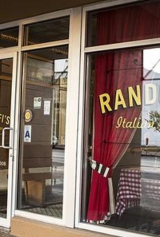 Randolfi's Italian Kitchen will close after dinner service on Saturday, September 9.