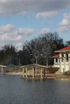 The Carondelet boathouse.