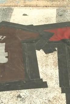 Ozark Bar Spells Out 'Lynch Kaepernick' in Side-by-Side Jersey Doormats