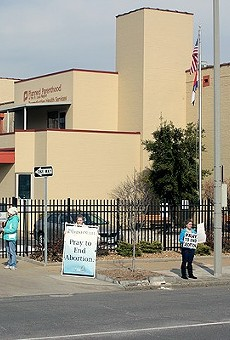An appeals court ruling means that the Planned Parenthood clinic in St. Louis, pictured here, could soon lose its distinction as the sole provider of surgical abortion in the state.