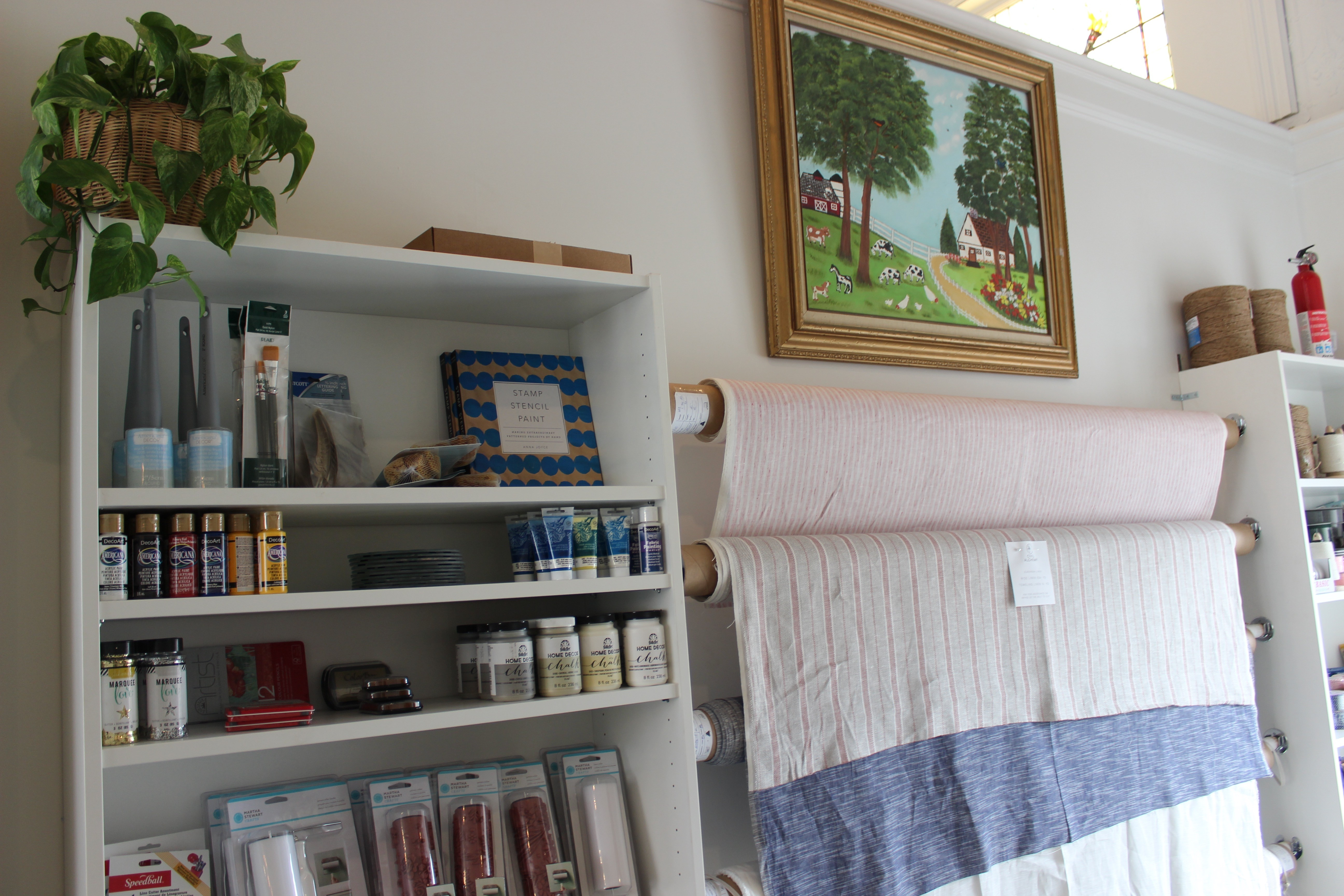 The Little Shop Peinture civil alchemy offers a little bit of everything in webster