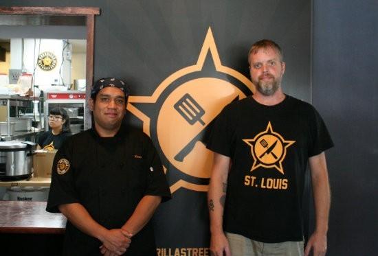 Joel Crespo (left) and Brian Hardesty. - PHOTO BY JOHNNY FUGITT