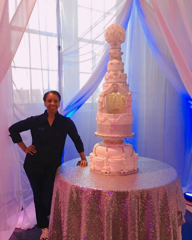 La Patisserie Chouquette Just Made The Coolest Wedding Cake In St