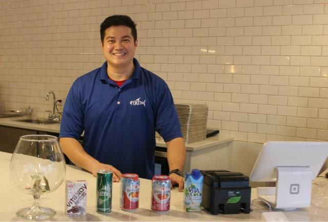 Andrew Shih, 30, is Poke Doke's managing partner. - SARAH FENSKE