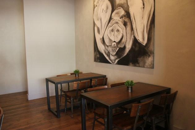 The dining room. - CHERYL BAEHR