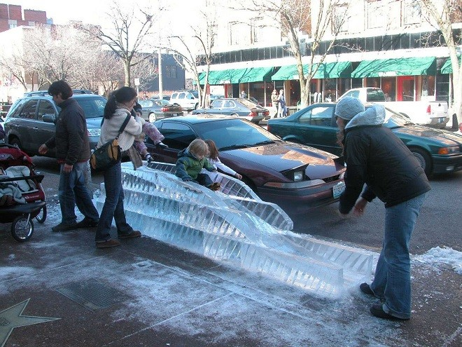 It's Ice, Ice Baby at the Loop Ice Carnival this weekend.