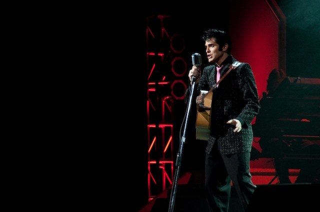 Not the actual Elvis impersonator who'll be performing at Das Bevo .... but maybe close enough? - SHUTTERSTOCK/RHIMAGE