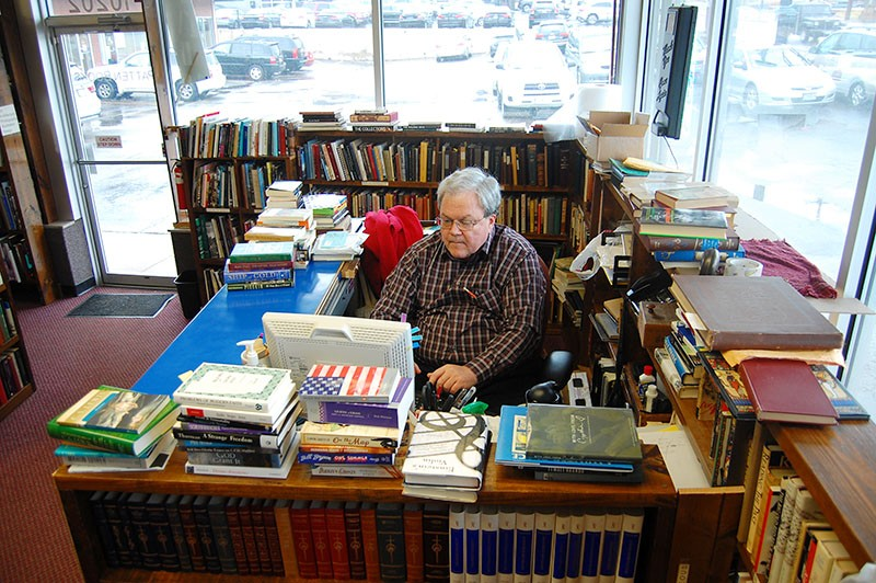 Keith Patten will close Patten Books on March 3 after nearly 25 years in business. - HARLAN MCCARTHY