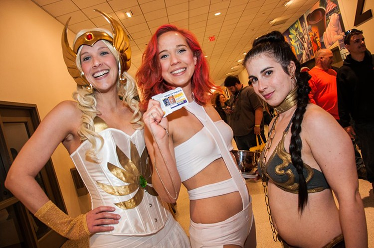 Wizard World St. Louis is ground zero for cosplayers this weekend. - MICAH USHER