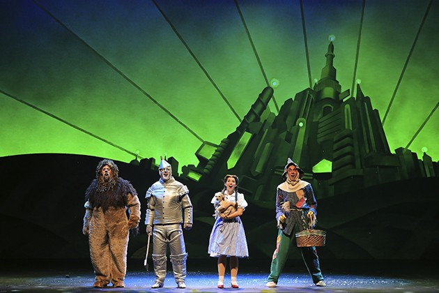 A quartet of searchers finds what they've been missing in The Wizard of Oz. - ©DENISE S. TRUPE