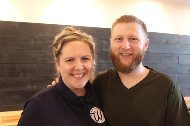 Co-founders Kyle and Angela Kohlmorgen. - SARAH FENSKE