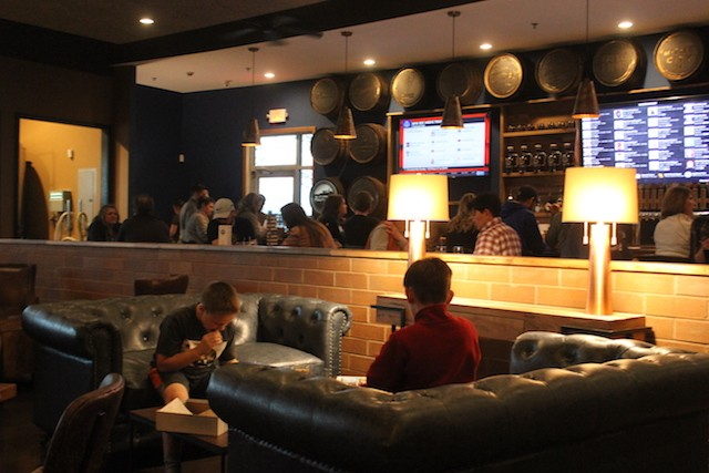 Play a board game — or check out the long list of taps on a TV screen behind the bar. - SARAH FENSKE