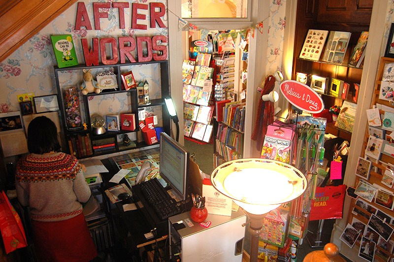 Afterwords Books hosts Family Fun Nights, among many other events. - HARLAN MCCARTHY