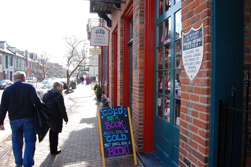 Main Street Books has been in St. Charles since 1993, thought it's moved locations and changed owners in that time. - HARLAN MCCARTHY