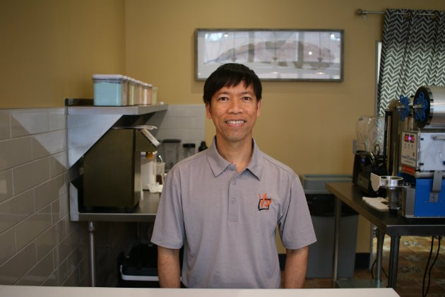 Victor Pham is the co-owner of VP Square. - CHERYL BAEHR