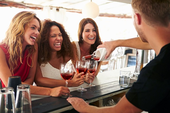 The Central West End's Rosé Day will give participants up to ten pours of everyone's favorite pink drink. - SHUTTERSTOCK/MONKEY BUSINESS IMAGES