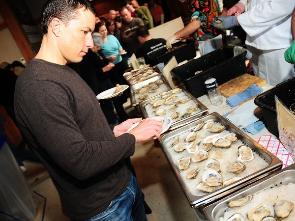 It's oysters galore at Schlafly this weekend. - EGAN O'KEEFE