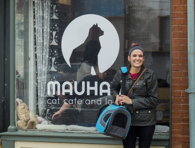 Inca leaves Mauhaus with a friend for life. - DANA HUTH/BEN TRIOLA