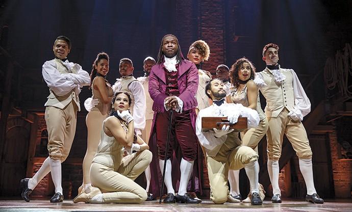Men and women were dapper indeed in Alexander Hamilton's day. - (C) JOAN MARCUS 2016