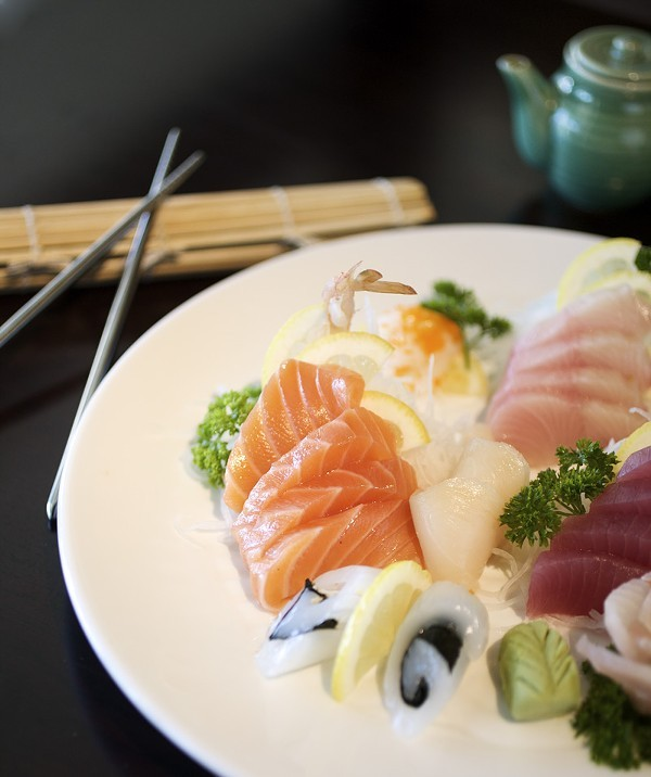 Sushi Ai's offerings. - JENNIFER SILVERBERG