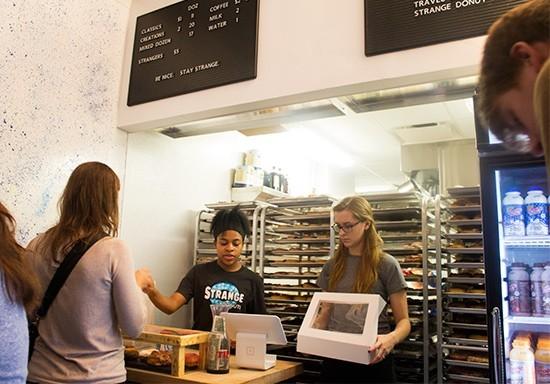 Strange Donuts' Kirkwood shop opened in 2014. - MABEL SUEN