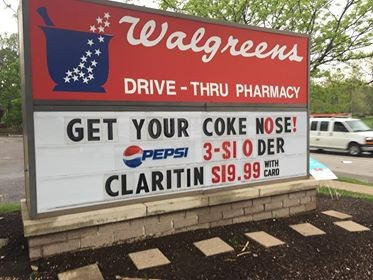 Does Claritin help with coke nose? - PHOTO BY EDWARD NOUD
